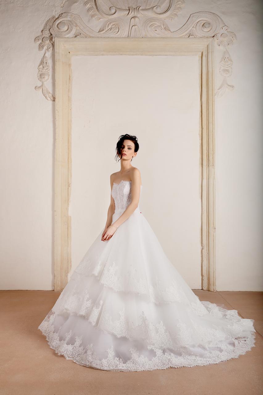 Corpino abito da sposa
