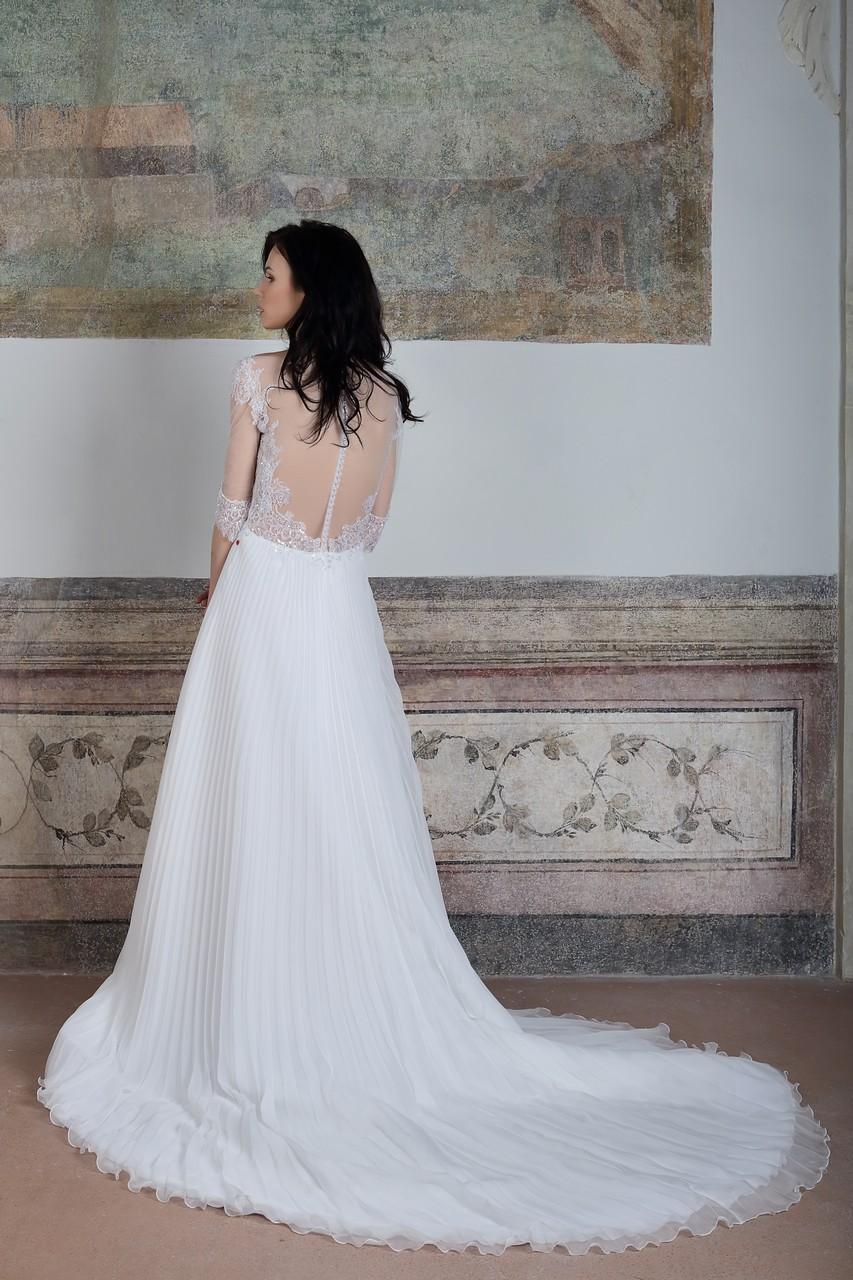 Vestito da sposa a punta
