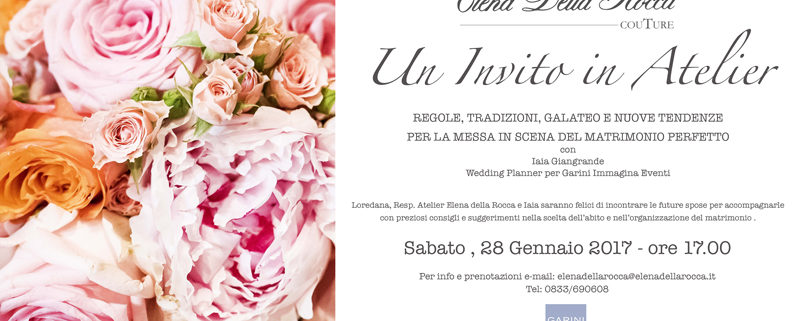 incontro con wedding planner
