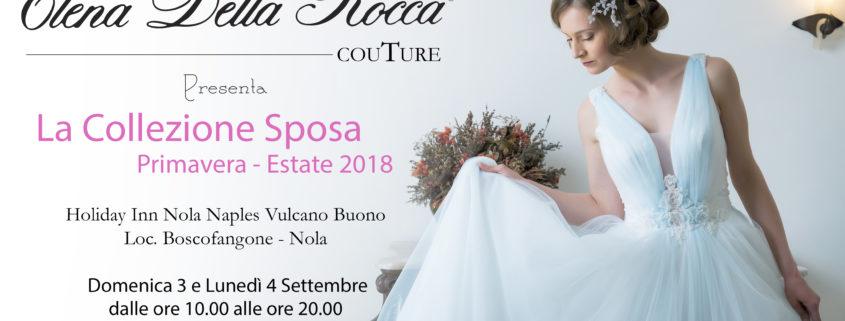 napoli collezione abiti da sposa 2018