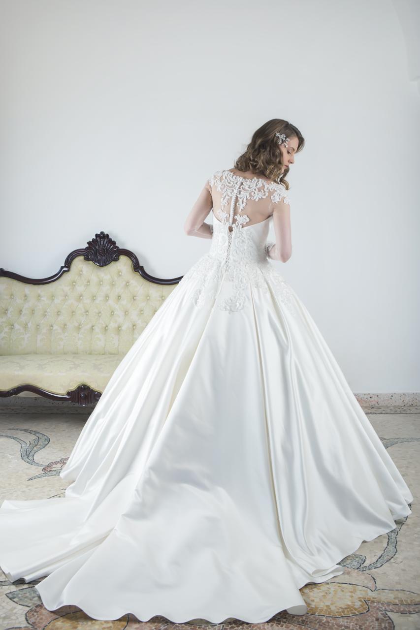 maxi abito sposa salento