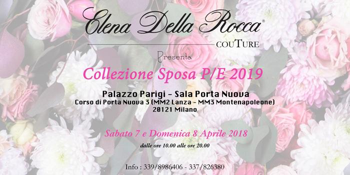 collezione sposa primavera estate 2019 milano