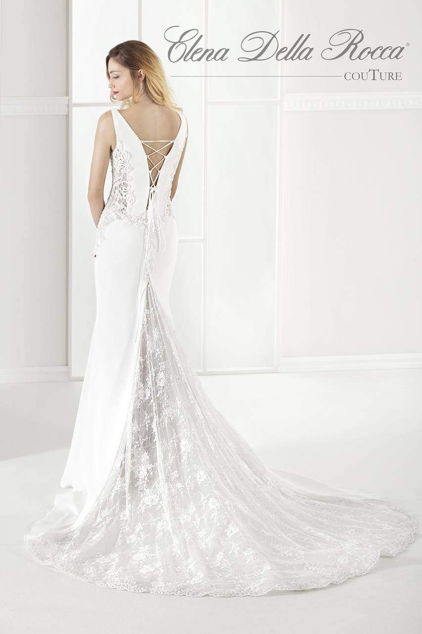 elena della rocca vestito da sposa