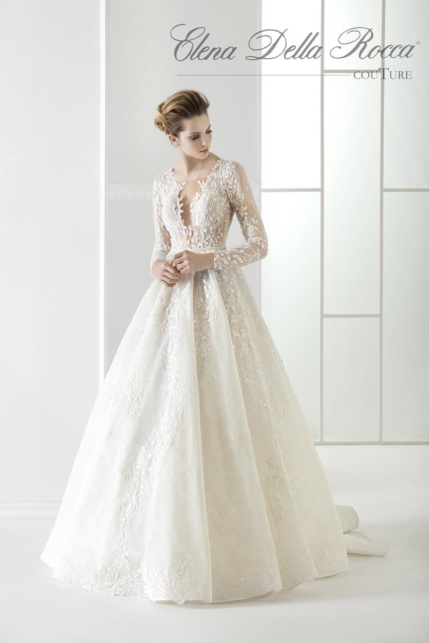 abito da sposa con gonna